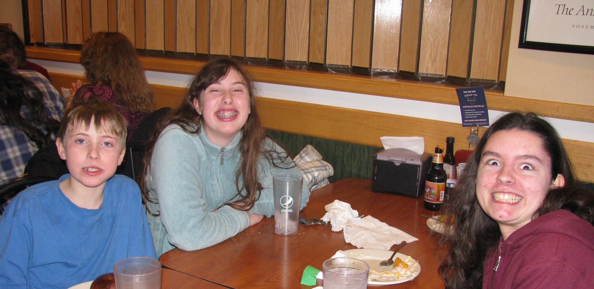 After church lunch at Hartford Ponderosa