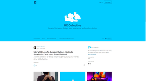 """The UX Collective is a more structured and digestible curating some of that content and giving it back to the community. A big part of what we learned in UX comes from online reading: articles, tutorials, resources, blogs. It's all available out there—but there's a lot. The logo polar bear is a reference to """"Information Architecture for the Web and Beyond"""", one of the most famous books in UX."""
