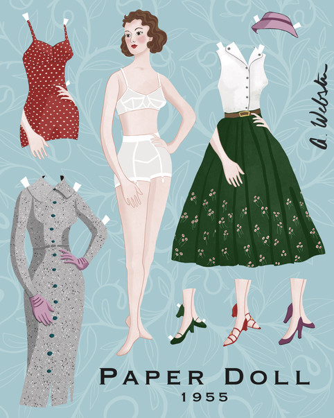 1955 Paper Doll