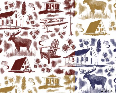 Adirondack Toile