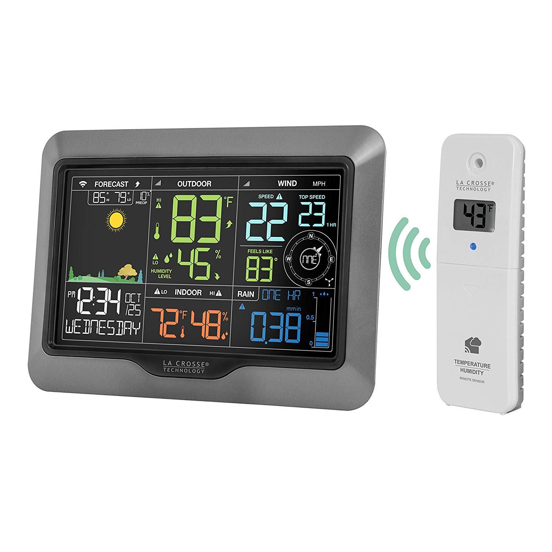 La Crosse Technology V40PRO-INT Color Wireless WiFi Professional Weather  Station   Mysite 1