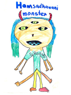 Hamsadhwani Monster