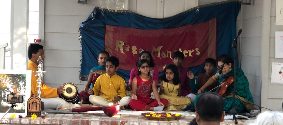 Raga Monsters Recital