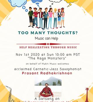 Prasant_Radhakrishnan_Satsang_SelfRealiz