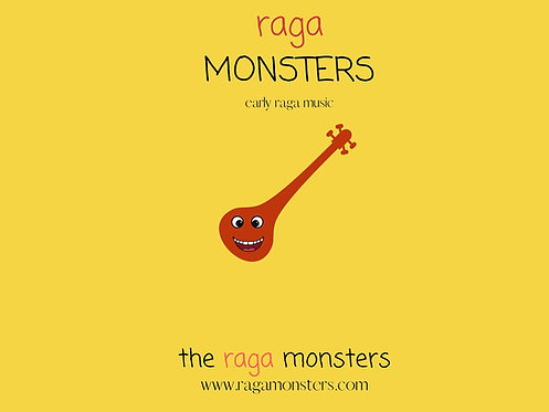 Raga Monsters BOOK