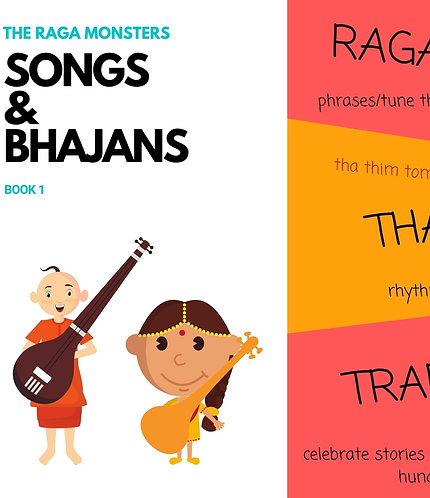 Songs and Bhajans - Book 1