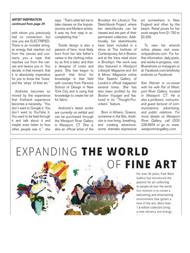 Art World News Magazine pg.2 of 2