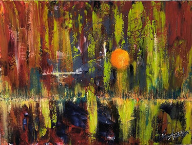 Joyful, Joyful  Acrylic on Canvas  Now A