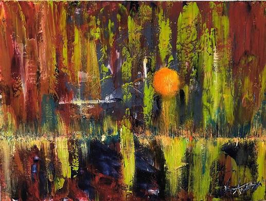 Joyful, Joyful  Acrylic on Canvas  Now A