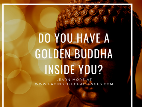 Can you find the Golden Buddha?