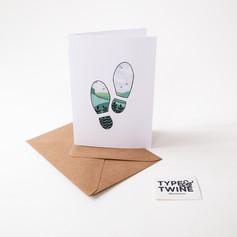 Countryside Footprints - Boot Print