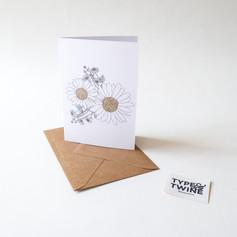 April Daisy Card