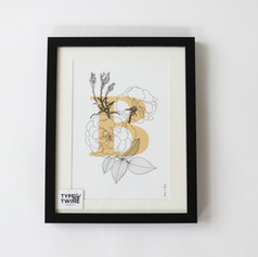 Birth Flower Print