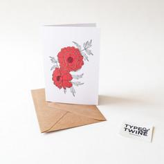 October Marigold Card