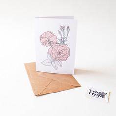 June Rose Card