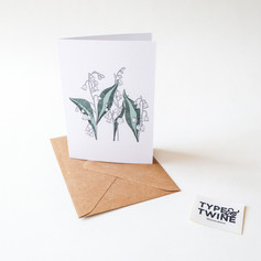 May Lily of the Valley Card