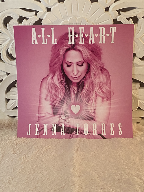 """""""All Heart"""" 12""""x12"""" Poster"""