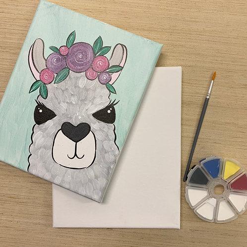 Lovely Llama Painting Kit