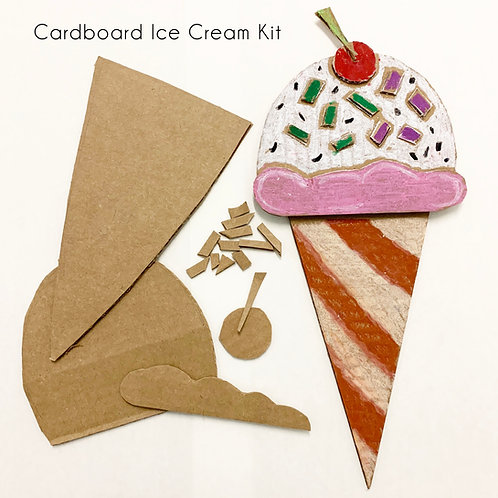 Cardboard Ice Cream Kit