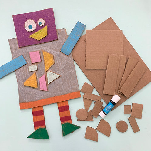 Cardboard Robot Kit