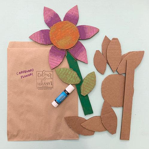 Cardboard Flower Kit