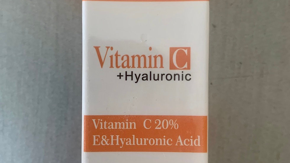 20% VITAMIN C & HYALURONIC ACID SERUM