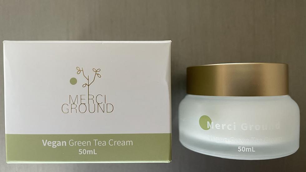 MERCI GROUND ORGANIC GREEN TEA CREAM