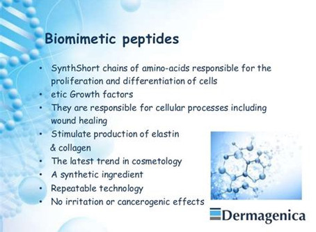 BR TOUCH is in... with the science of biomimetic Peptides!