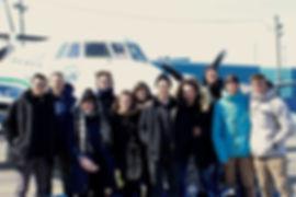 Le groupe à la maîtrise en design de l'environnement à l'UQAM 2018