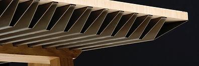 ZEF (Zero Emission Furniture) : Table climatique