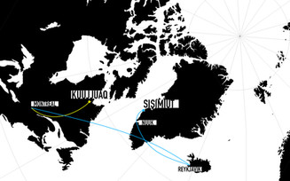 Carte des voyages d'études