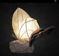 Lámpara escultura de luz