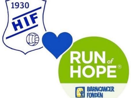 Run of Hope med Hedevikens IF