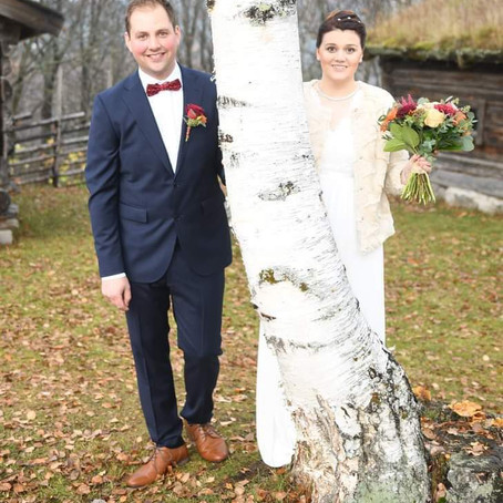 Grattis till brudparet Lindroth!