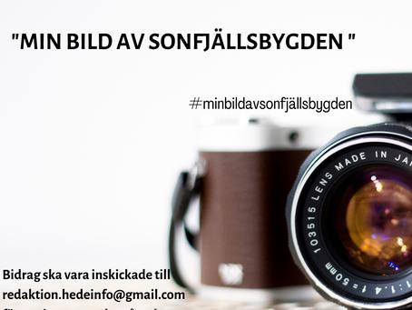 """Dags att skick in till """"min bild av Sonfjällsbygden""""?"""