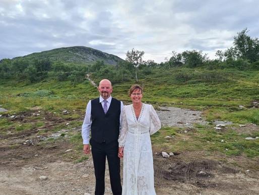 Grattis till brudparet Per Ola & Trine!
