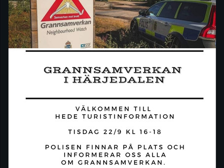 Infoträff om Grannsamverkan