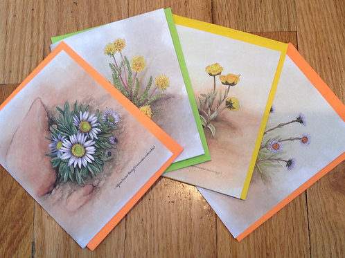 Alpine Botanicals Cards