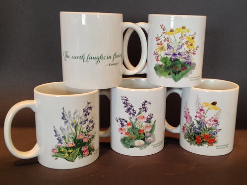 Wildflower Bouquet Mugs