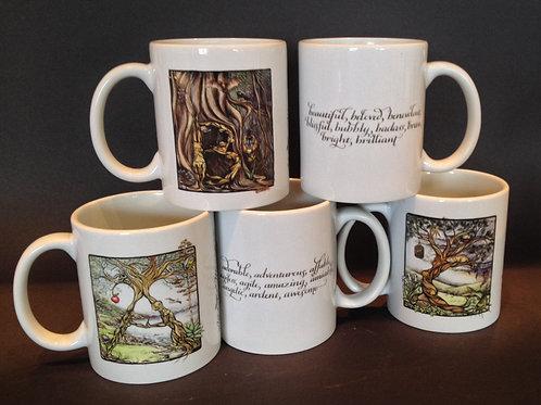 Alphabet Menagerie - Letter Mugs