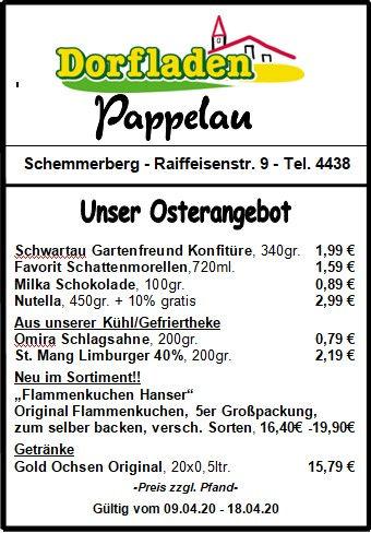 Osterangebot Dorfladen 09.04.-18.04.20.j