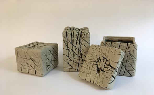 Cajas Bambú