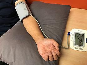 Blood pressure arm on pillow.jpg