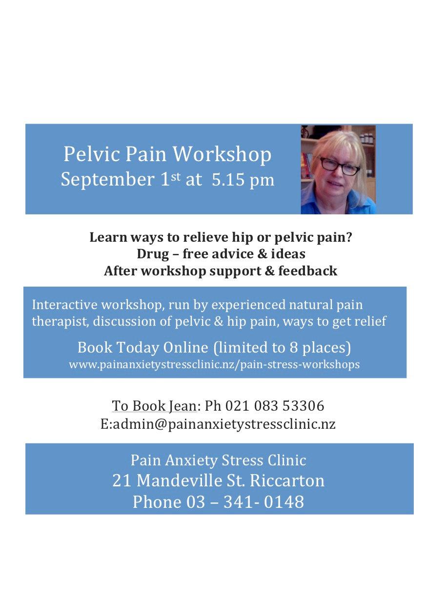 Pelvic Pain Workshop  - September 1st