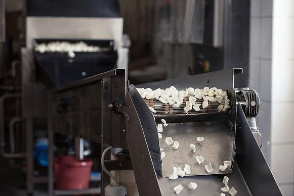 Potato snack chips crisps production lin