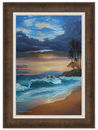"Ulua Romance - 20"" x 30"" Original Oil Painting"