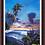 Thumbnail: Lahaina Tiki Sunset - Giclee Print