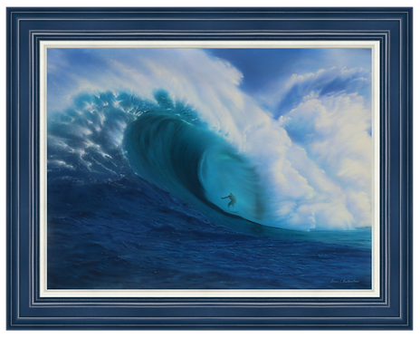 "Majestic Swell - 30"" x 40"" Original Acrylic Painting"