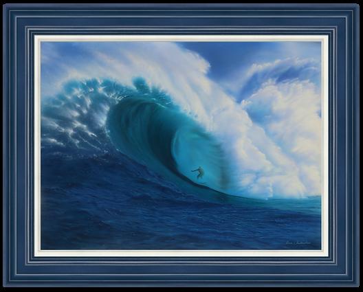 "Majestic Swell - 30"" x 40"" Original Acrylic Painting"