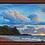 """Thumbnail: Makua Sunset - 36"""" x 24"""" Original Oil Painting"""